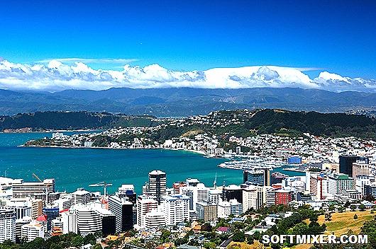 Город-Веллингтон-Новая-Зеландия