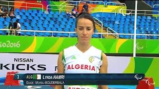 Vidéo/ Jeux paralympiques: Lynda Hamri remporte la médaille de bronze