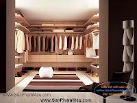 Những mẫu phòng thay đồ phong cách Âu