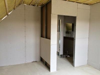 m llers bau gl ck unser bautagebuch trockenbau f r den elektriker fertig baut r ist da. Black Bedroom Furniture Sets. Home Design Ideas
