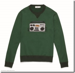 Coach x Keith Haring Sweatshirt in Emerald (29628)