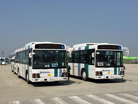 西日本鉄道 福岡空港内ランプバス