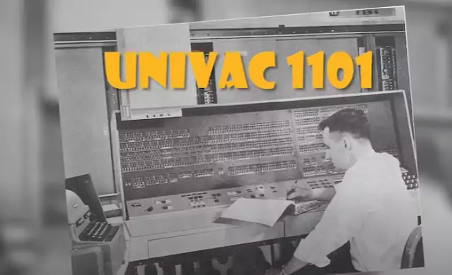 computer called the UNIVAC 1101