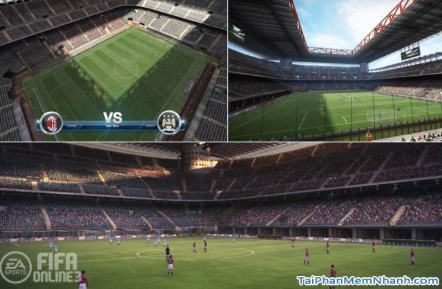 Hình ảnh trong game FIFA Online 3