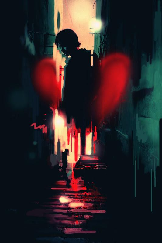 Bleeding Heart By Nargynargy, Bloody