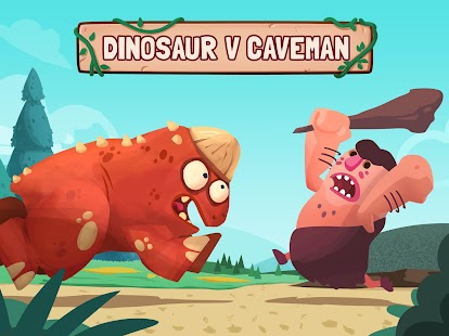 Dino Bash - Dinosaurs v Cavemen Tower Defense Wars- screenshot thumbnail