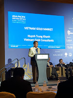 Huynh Ttung Khanh charted a rise in demand after the government opened up the market for gold retail.