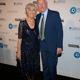 OIC - ENTSIMAGES.COM - Megs and Bob Wilson at the London Football Legends Dinner & Awards Battersea revolution London 5th March 2015 Photo Mobis Photos/OIC 0203 174 1069