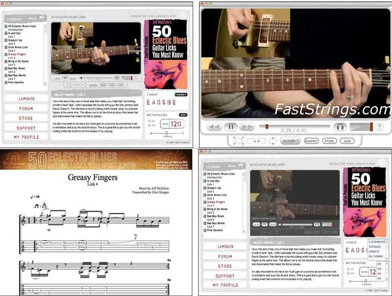 Jeff McErlain - 50 Electric Blues Guitar Licks You Must Know