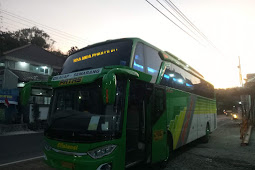 Kebumen ke Semarang dengan Bus Efisiensi Jurusan Cilacap-Semarang