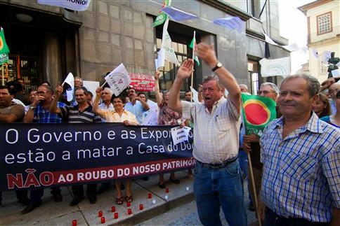 Viticultores em vigília contra a