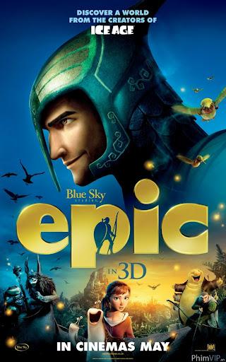 Trận Hùng Chiến Xứ Sở Lá Cây - Epic poster