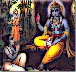 [Krishna speaking to Uddhava]
