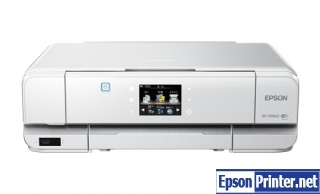 How to reset flashing lights for Epson EP-976A3 printer