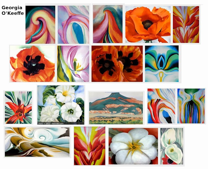 Georgia O-Keeffe - Canyon Country...