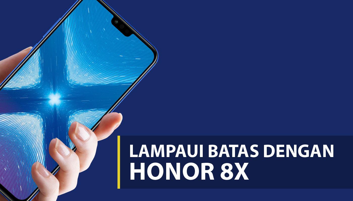 Review Huawei Honor 8X  HP layar lebar spesifikasi gahar