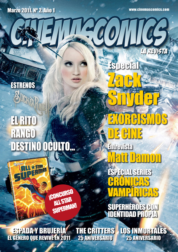 Numero 2 cinemascomics la revista