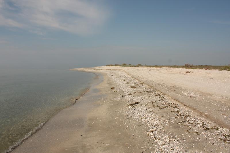 Plaja pustie din Vadu, Romania