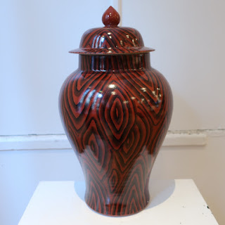 Porcelain Ginger Jar