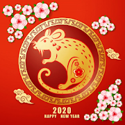 App Icon for Happy Chinese New Year Wishes Messages 2020 App in United States Play Store