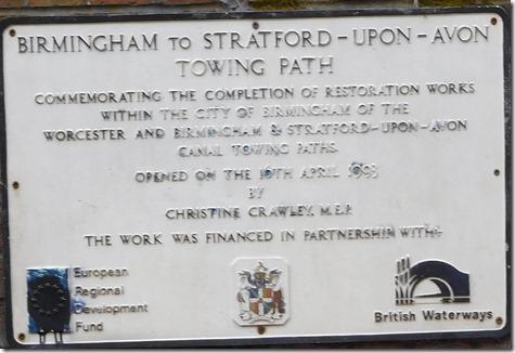 7 restoration plaque nr bridge 4 stratford
