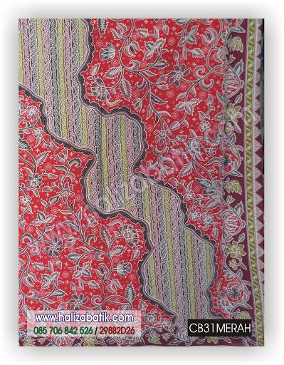 Baju Online, Toko Baju Batik Online, Fashion Batik, CB31 MERAH