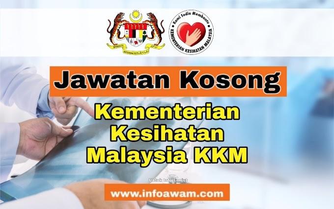 Jawatan Kosong Terkini Di Kementerian Kesihatan Malaysia KKM