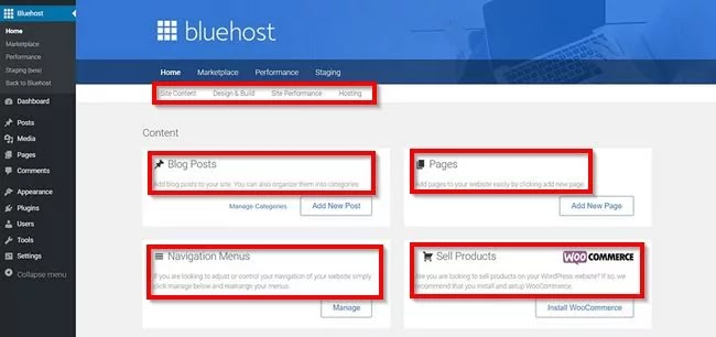 Bluehost Experience