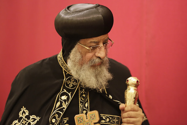 His Holiness Pope Tawadros II visit to St. Mark LA - _09A9094.JPG