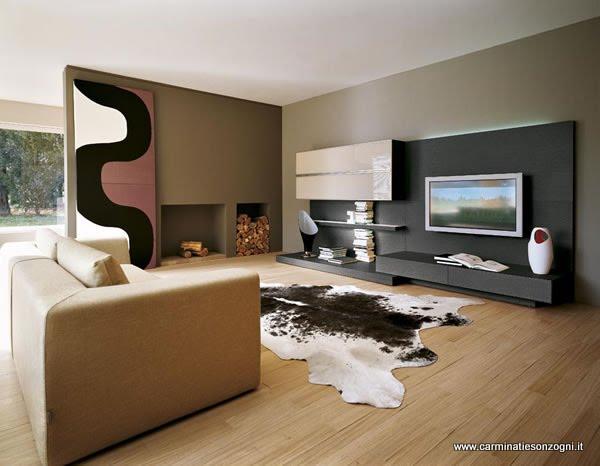 Arredamenti moderni per cucine zona giorno e notte for Foto case arredate moderne
