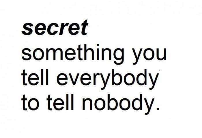 Secret Meaning