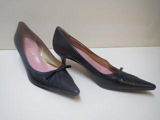 Dolce & Gabbana Bowtie Kitten Heels