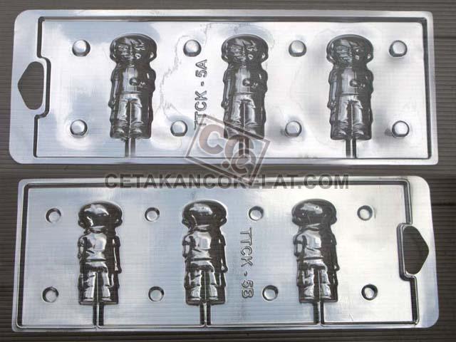 Cetakan Coklat TTCK5AB Ben-10 Ben 10 Ben10 TTCK cokelat 3D