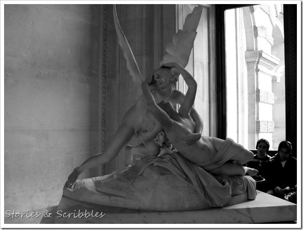 Psyche Revived by Cupid's Kiss (Louvre Museum, Paris)