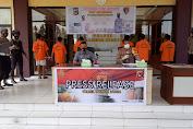 Meresahkan Masyarakat, Puluhan Tersangka Kasus 3C Diringkus Tim Puma