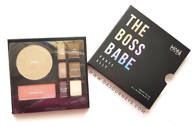 [Review] The Boss Babe All In One Palette dari Make Over