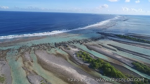 Gli hoa di SE - Rangiroa dal drone