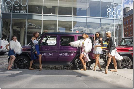 Mercedes-Benz & le ballerine di Hiplet™ a New York (2)