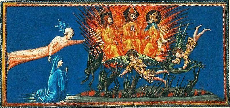 Giovanni di Paolo - Divine Comedy. Dante