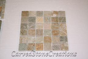 2x2, Flooring, Flooring & Mosaics, Interior, Mosaic, Natural, Quartzite, Serengeti Gold, Stone, Tile, Tumbled