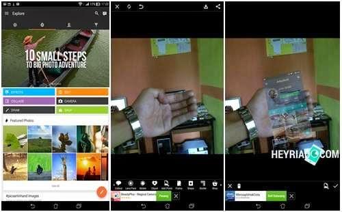 """Membuat instagram in hand tolong-menolong sangat gampang Cara Membuat """"Kekinian"""" Instagram in Hand Di Android"""