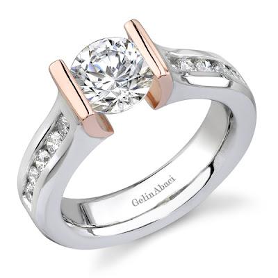 Tension Wedding Ring 22 Amazing Tension Setting Ring Gelin