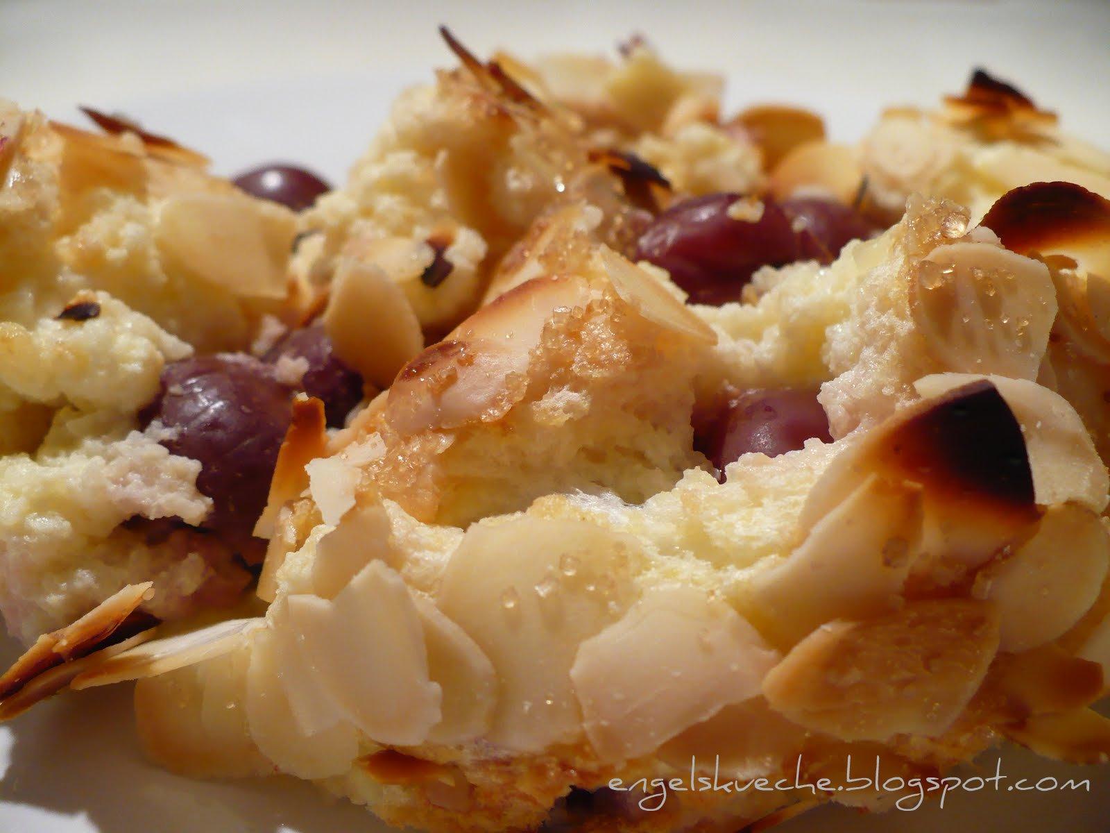 Essen Aus Engelchens Kuche Quark Griess Auflauf Mit Kirschen