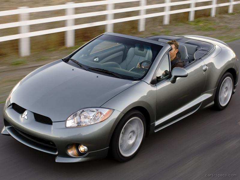 2008 Mitsubishi Eclipse Spyder Convertible Specifications, Pictures ...