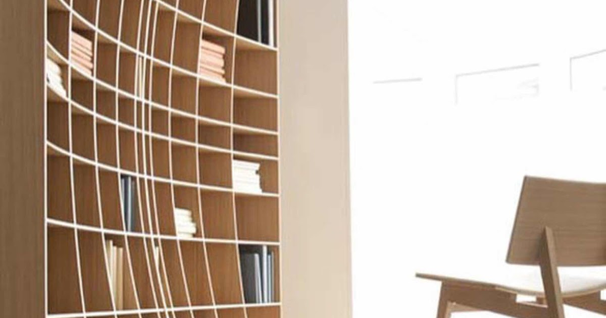 The Concave Bookcase