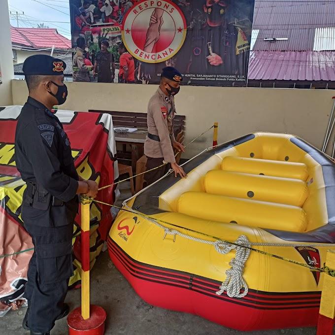 Respons Bencana Wujud Bhakti Brimob Polda Kaltim Untuk Masyarakat