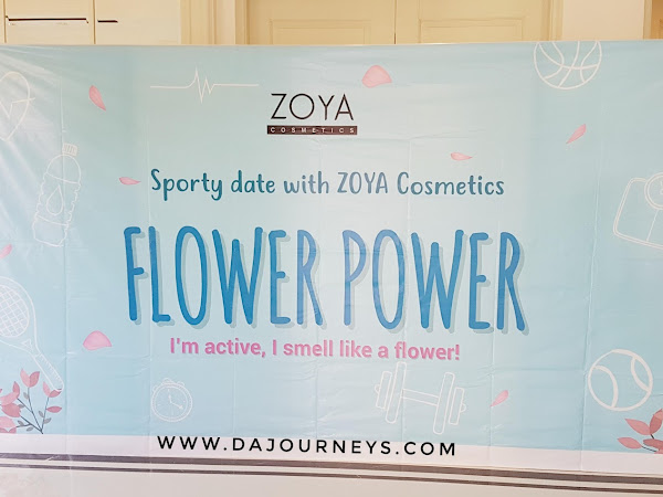 Flower Power Sporty Date with ZOYA Cosmetics