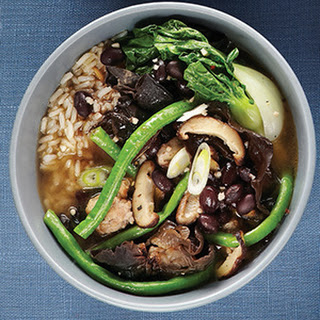 Five-Spice Pork Chili with Asian vegetables