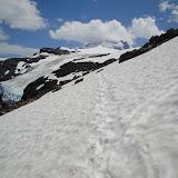Cammino ghiacciato