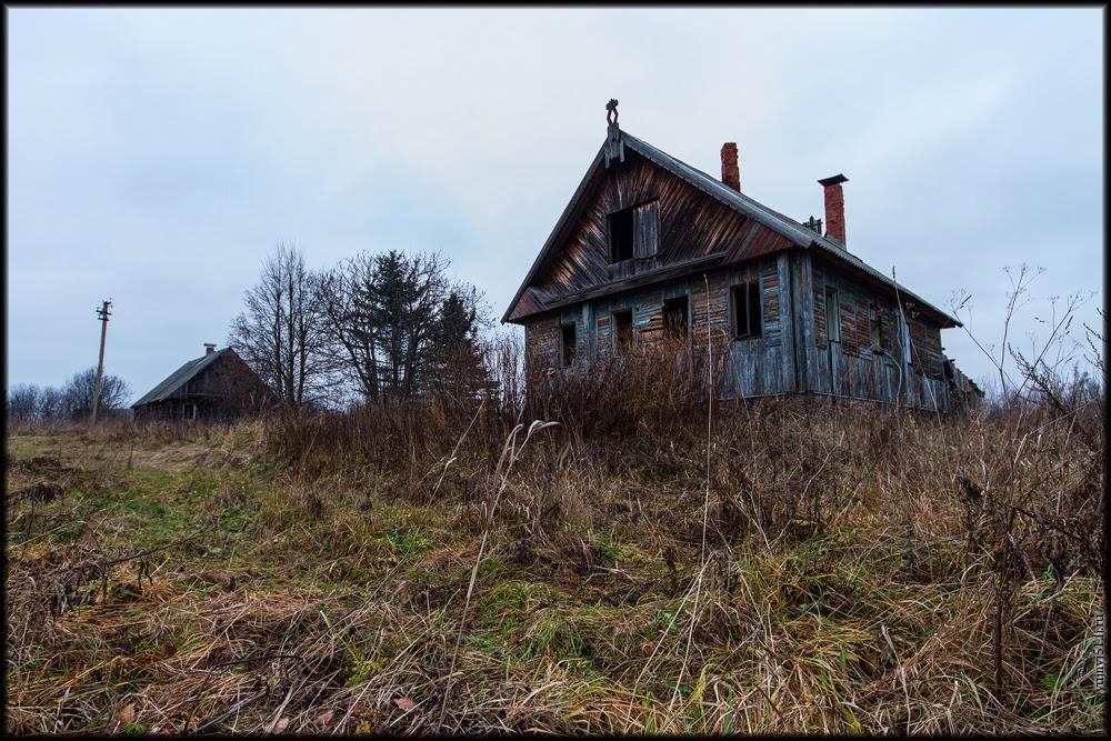 Заброшенные дома в деревнях подмосковья фото